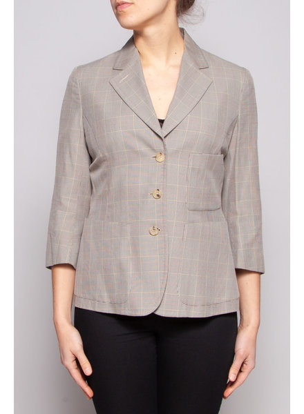 Paul Smith GREY PRINCE OF WALES BLAZER