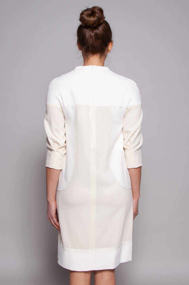 Amelia Toro OFF-WHITE & CREAM DRESS