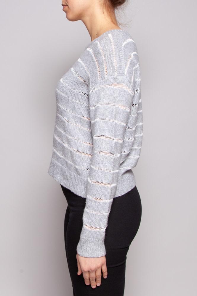 Rag & Bone Pull gris rayé - Neuf avec étiquette
