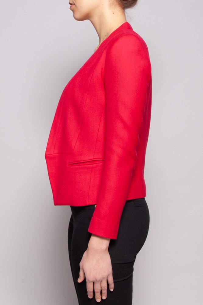 Sandro Red Jacket