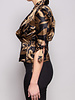 Paul Smith SILK GOLD & BROWN BLOUSE - NEW WITH TAGS