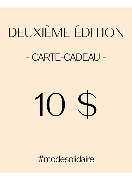 CARTE-CADEAU 10$