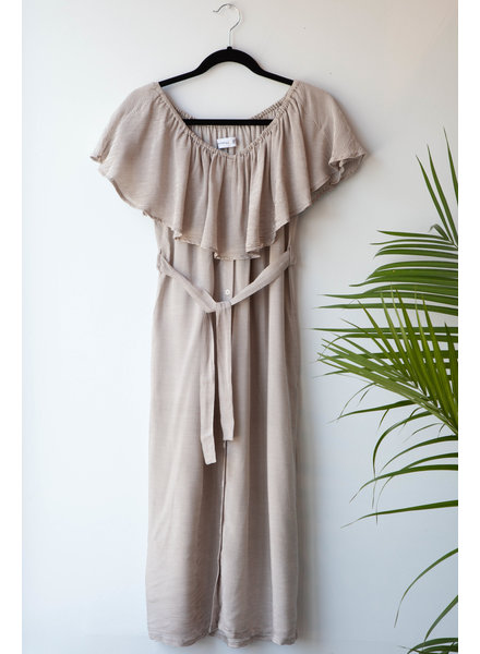 Faithfull The Brand FINE-STRIPED DRESS