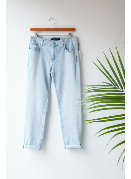 J Brand JOHNNY MID RISE BOYFRIEND JEANS - NEW WITH TAG (SAMPLE)