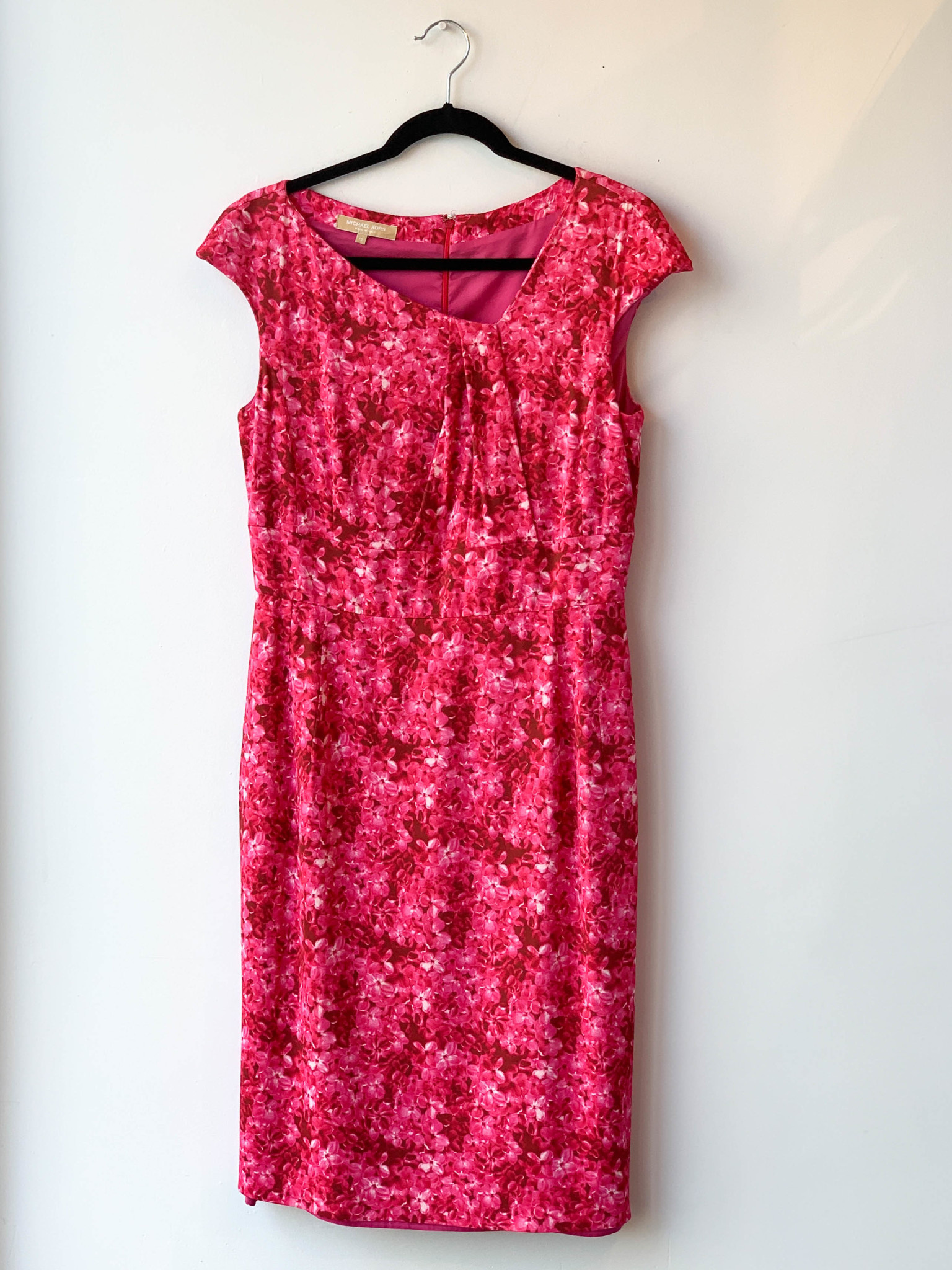 Michael Kors PINK FLORAL DRESS