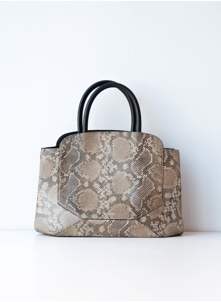 Auxiliary FAUX SNAKE LEATHER BAG