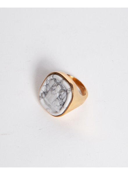 Vivienne Westwood MARBLE EFFECT STONE RING