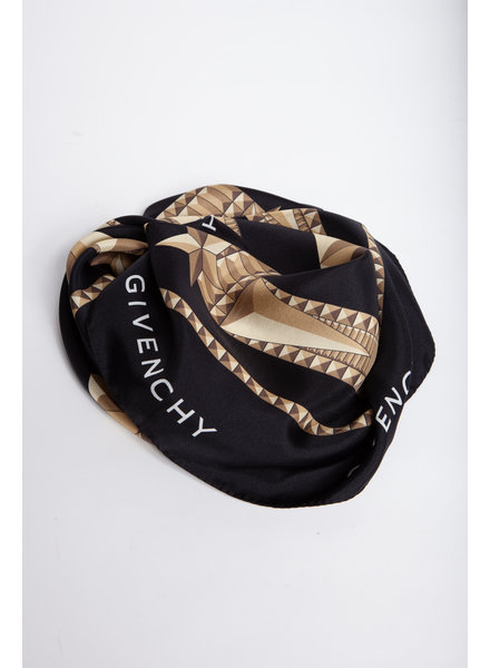 Givenchy SILK SQUARE SCARF