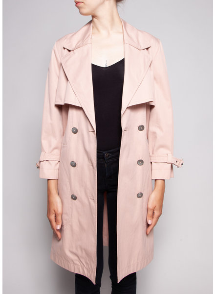 Dolce & Gabbana PINK TRENCH COAT