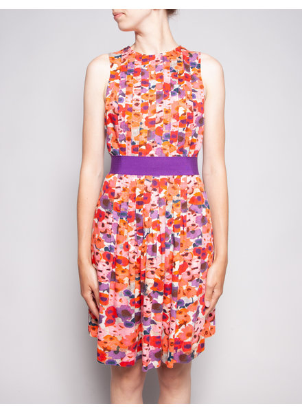 Carolina Herrera COLORFUL FLORAL DRESS