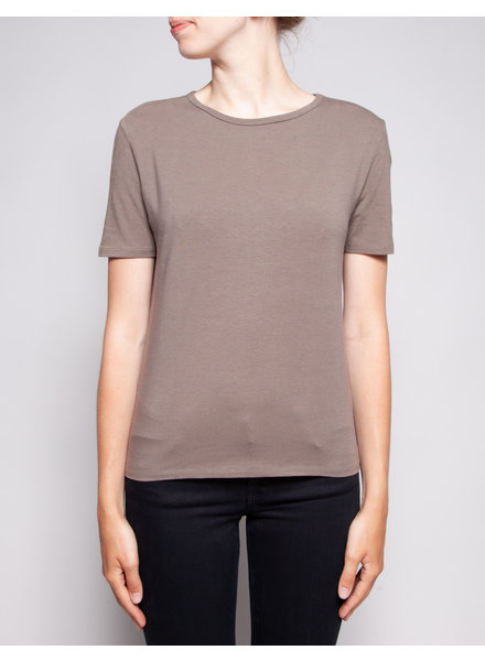 Weekend Max Mara TAUPE COTTON T-SHIRT - NEW