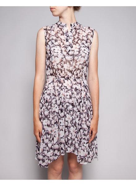 AllSaints DIAPHANE FLOWERED DRESS
