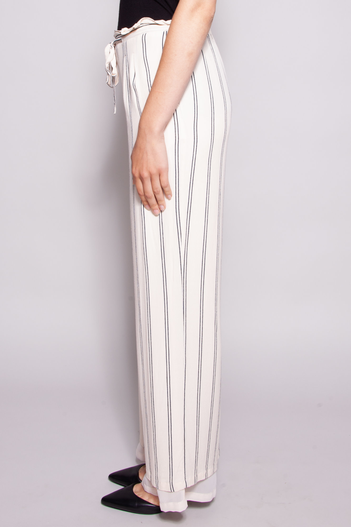 Rails OFF-WHITE AND BLUE PANT