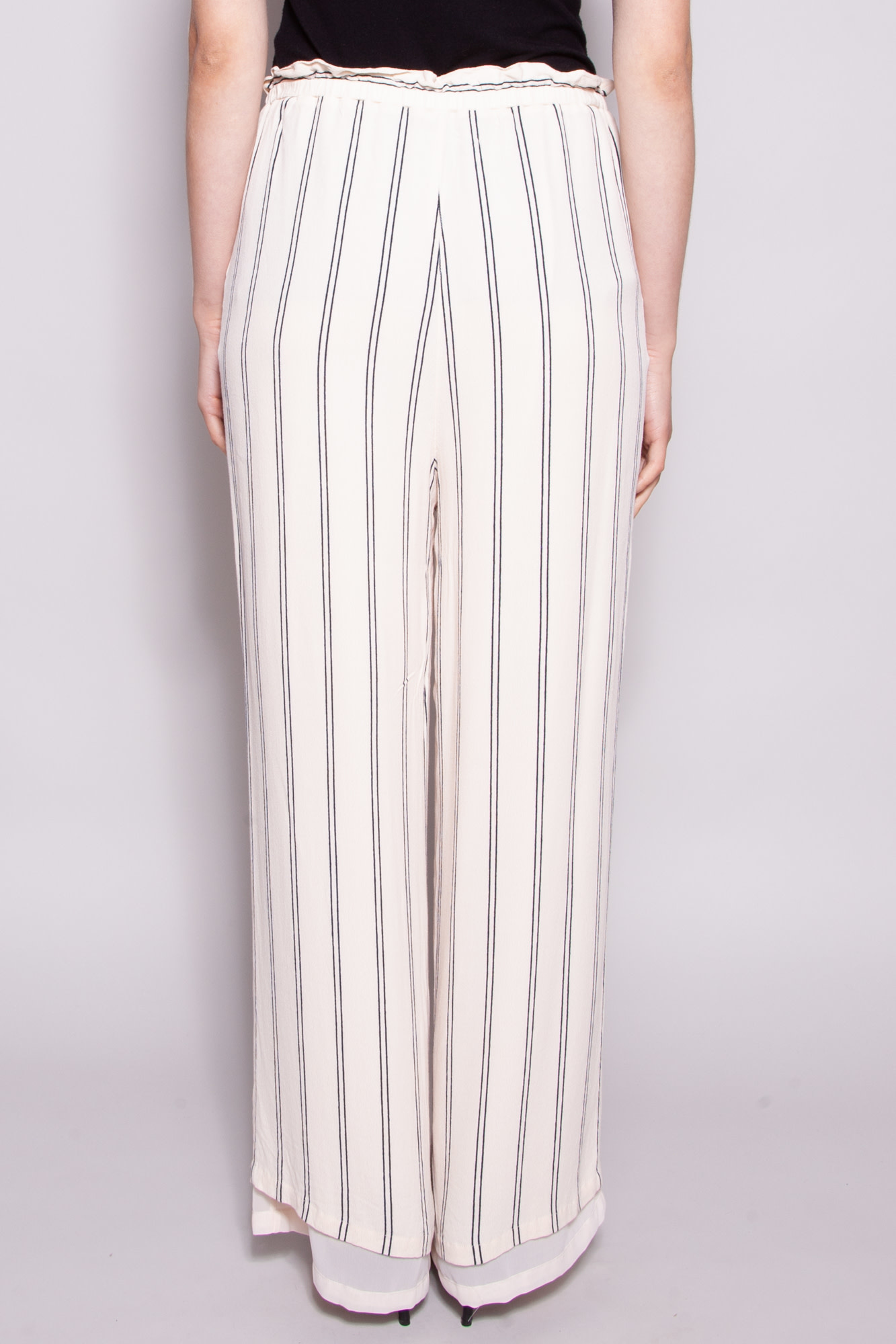 Rails NEW PRICE (WAS $65) - OFF-WHITE AND BLUE PANT