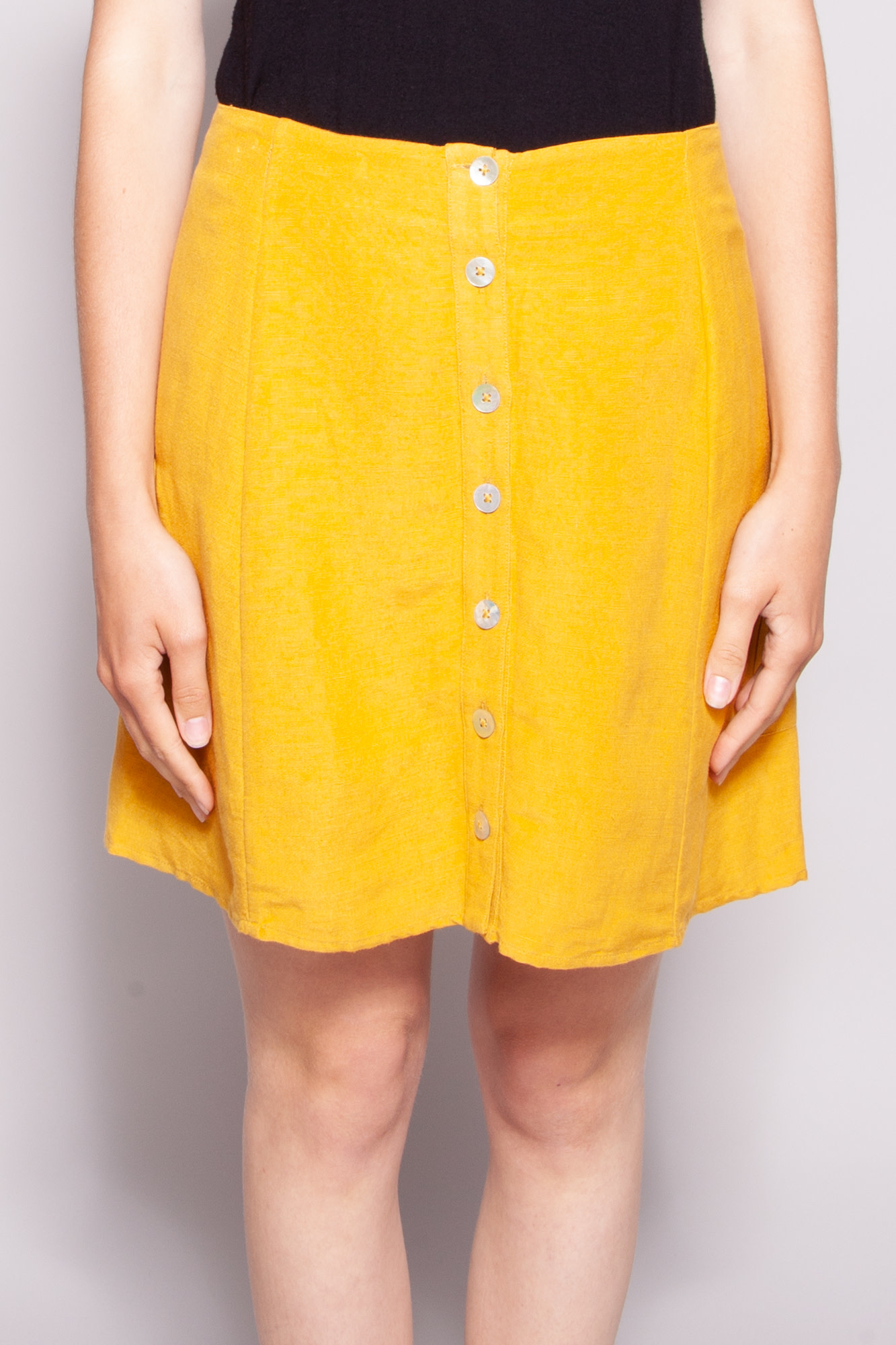 Rails Yellow short skirt - New with tags