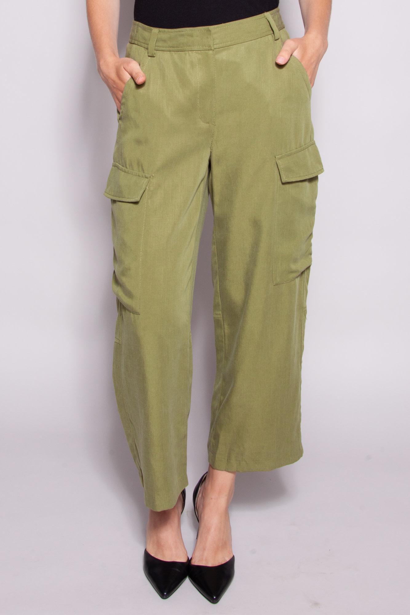 MICHAEL Michael Kors GREEN CARGO PANTS