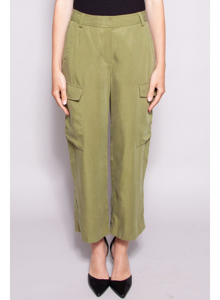 MICHAEL Michael Kors GREEN CARGO PANTS - NEW WITH TAG