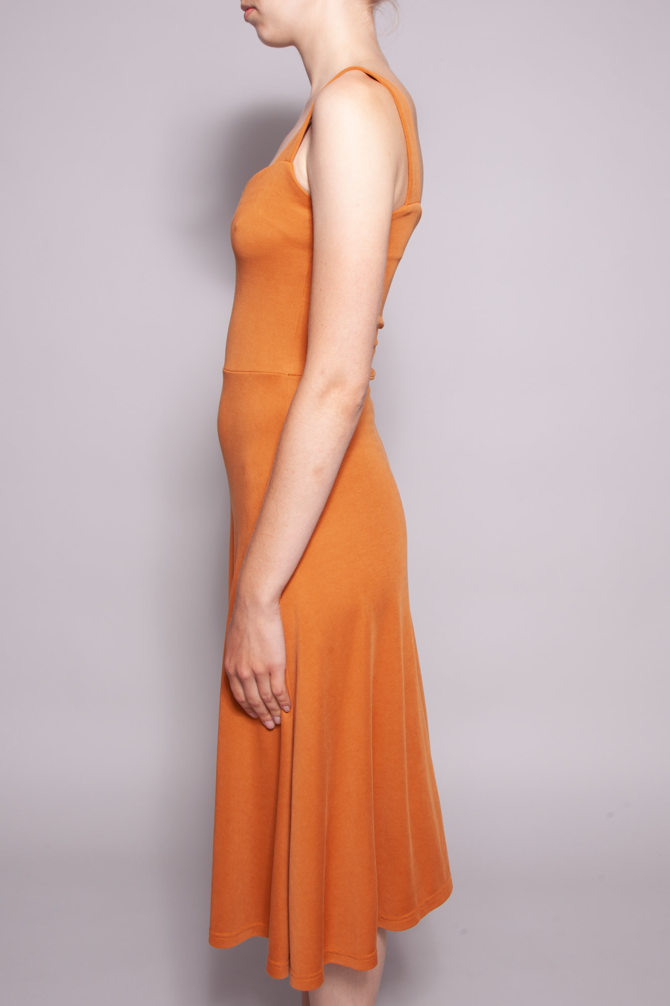 Heartloom FLUID OCHER DRESS