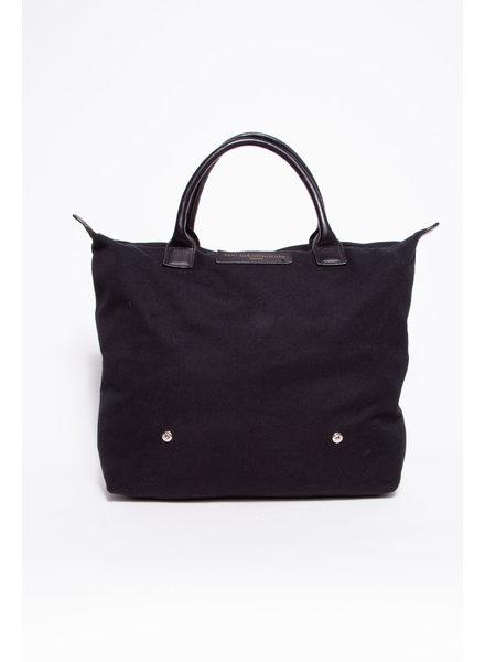 WANT Les Essentiels LARGE BLACK ORGANIC COTTON BAG