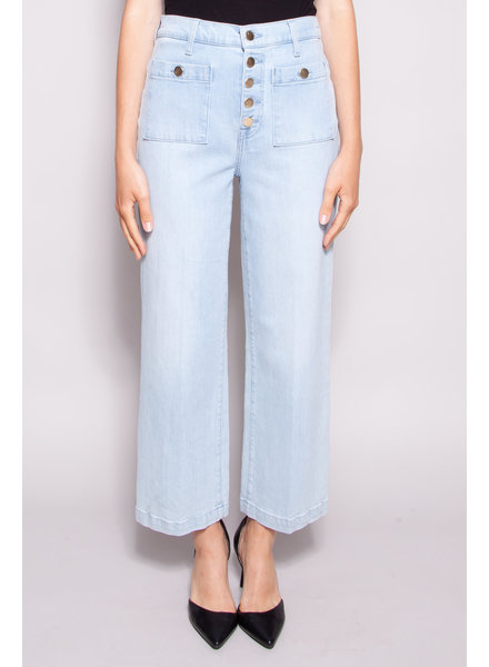 J Brand PALE BLUE JEANS WITH WIDE LEGS