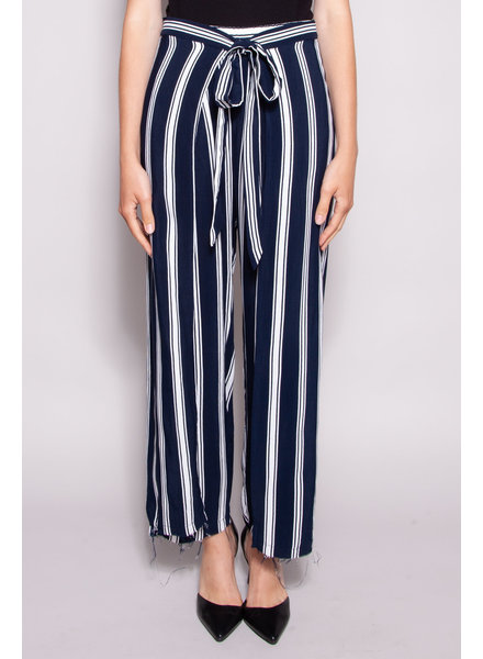 Faithfull The Brand BLUE AND WHITE PANTS