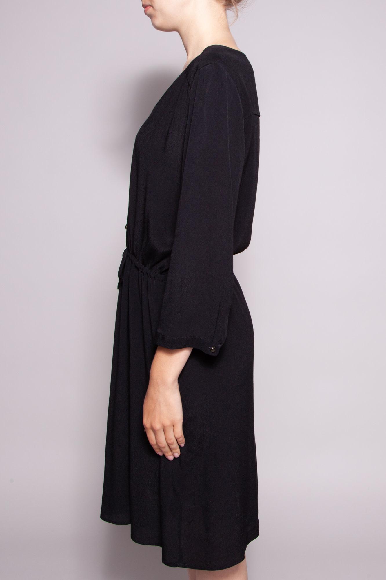 Des petits hauts BLACK FLUID DRESS