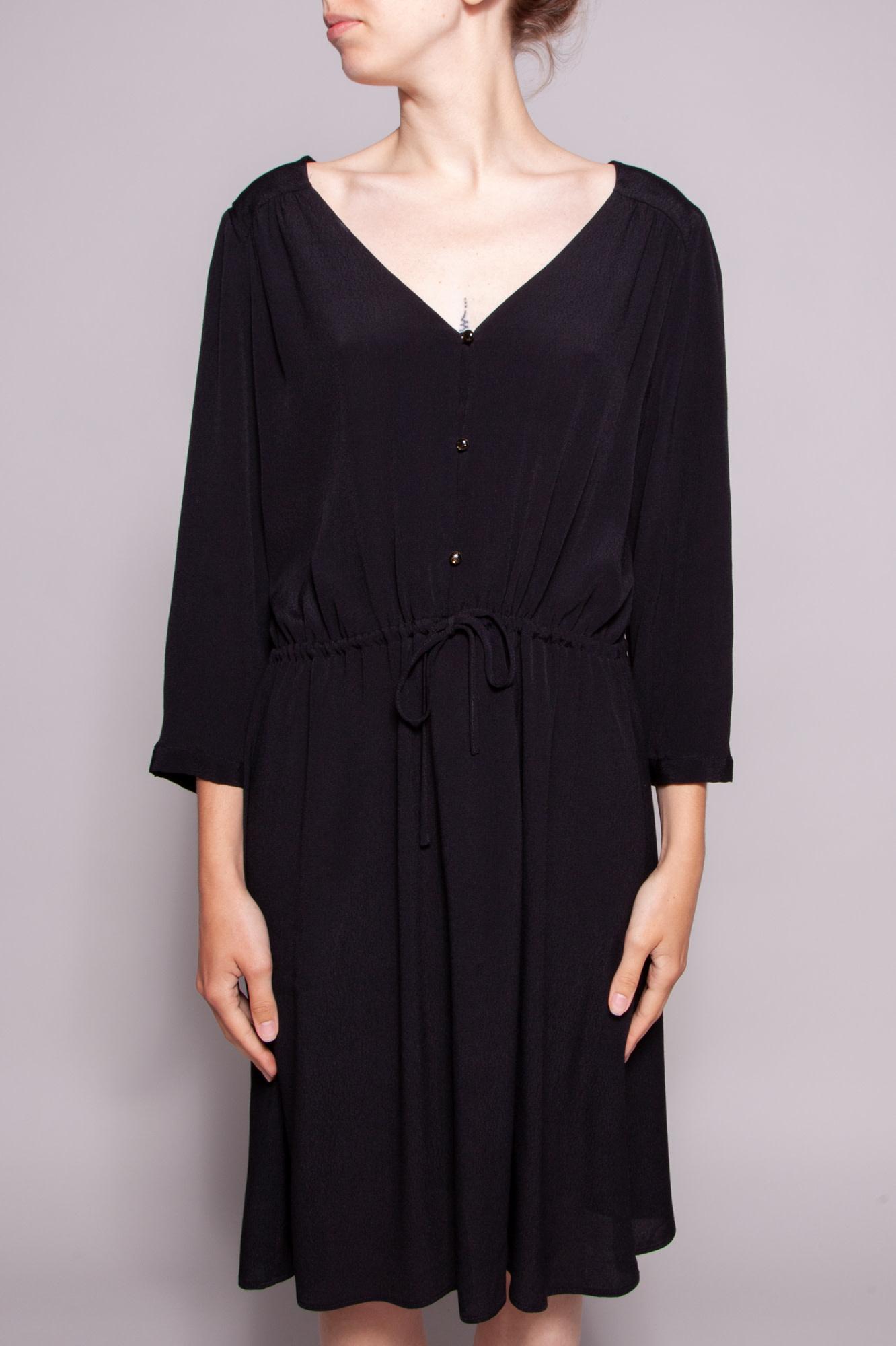 Robe Noire Serree A La Taille Des Petits Hauts Deuxieme Edition