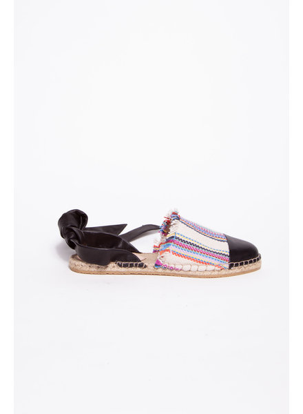 Loeffler Randall COLORFUL SANDALS WITH LEATHER FASTENERS
