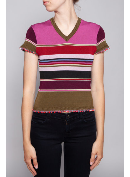 Kenzo Jeans COLORFUL KNITTED TOP
