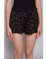 Rails BLACK SHORTS WITH MULTICOLORED POLKA DOTS - NEW