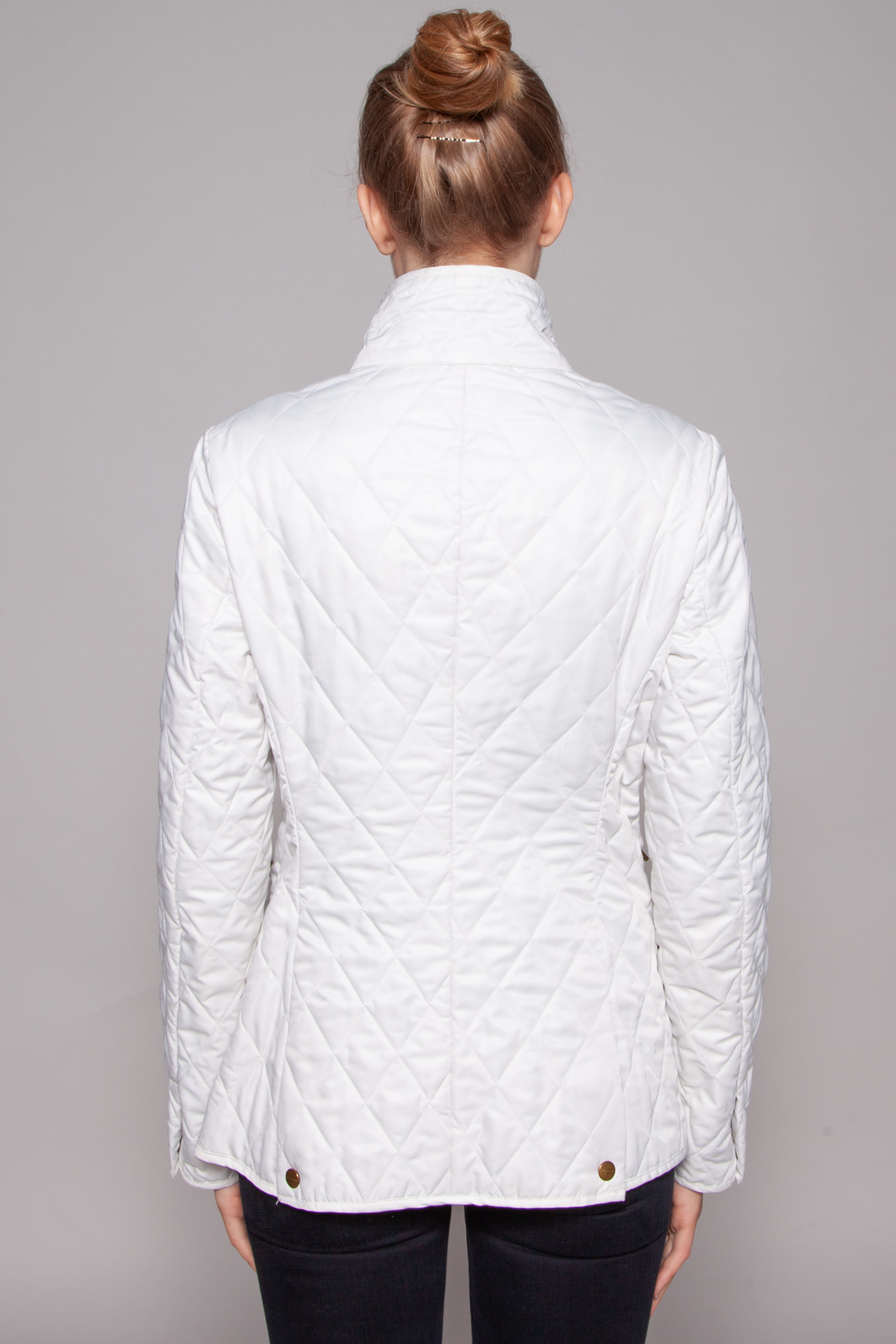 Burberry OFF-WHITE QUILTED JACKET
