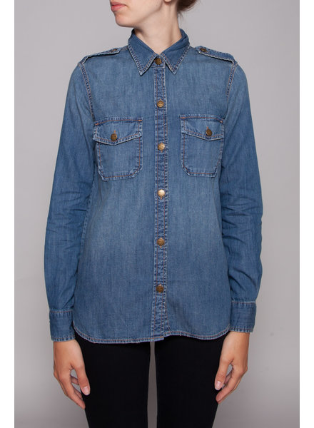 Current Elliott DENIM BLOUSE - NEW WITH THE TAG