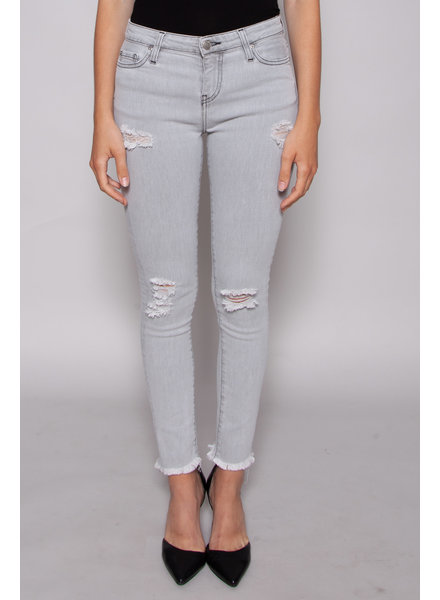 Iro GREY DISTRESSED JEANS