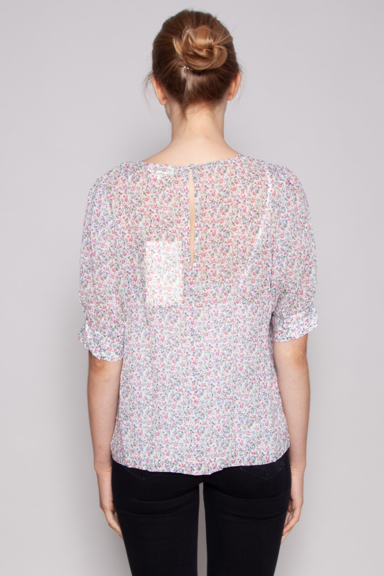Notes du Nord FLOWER SYMPHONY POSH TOP - NEW WITH TAG (SAMPLE)
