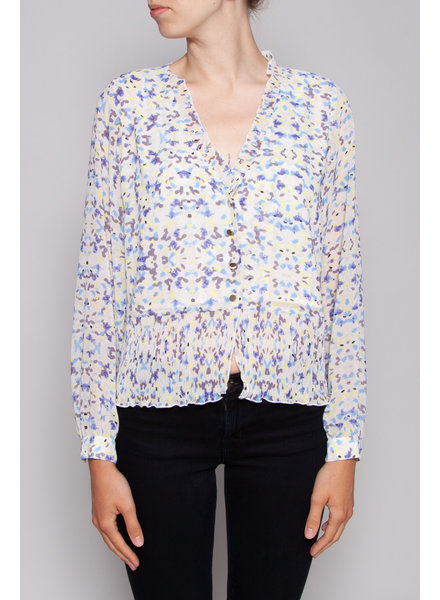 Notes du Nord NEW PRICE (WAS $120) - PASTEL PRINT BLOUSE - NEW (SAMPLE)