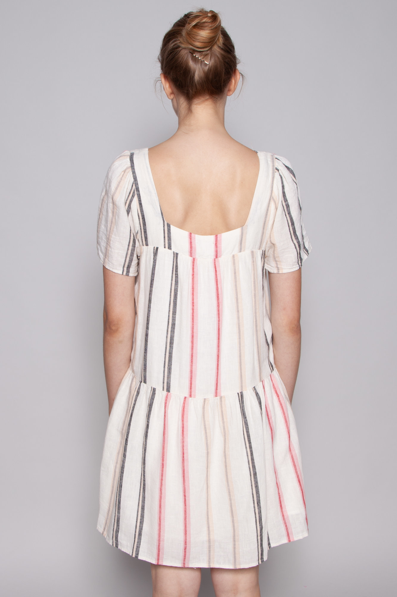 Rails NEW PRICE (WAS $102) - VALENTINA STRIPED LINEN DRESS - NEW