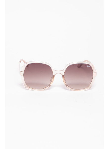 Quay Australia PINK OVERSIZED SUNGLASSES - NEW