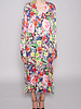 Notes du Nord FLORAL SHIRT DRESS PARIS - NEW WITH TAG