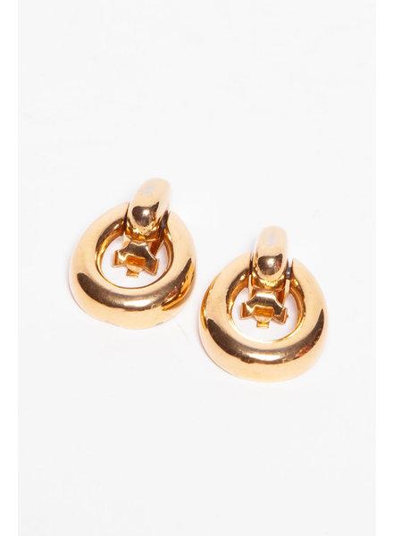 Christian Dior GOLDEN EARRINGS