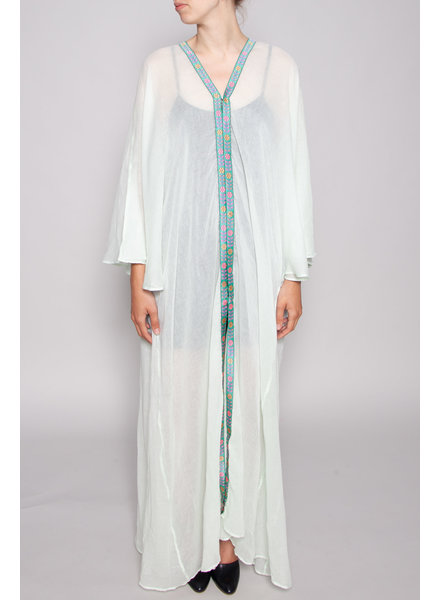 Pitusa MINT GREEN KAFTAN WITH PATTERNS - NEW