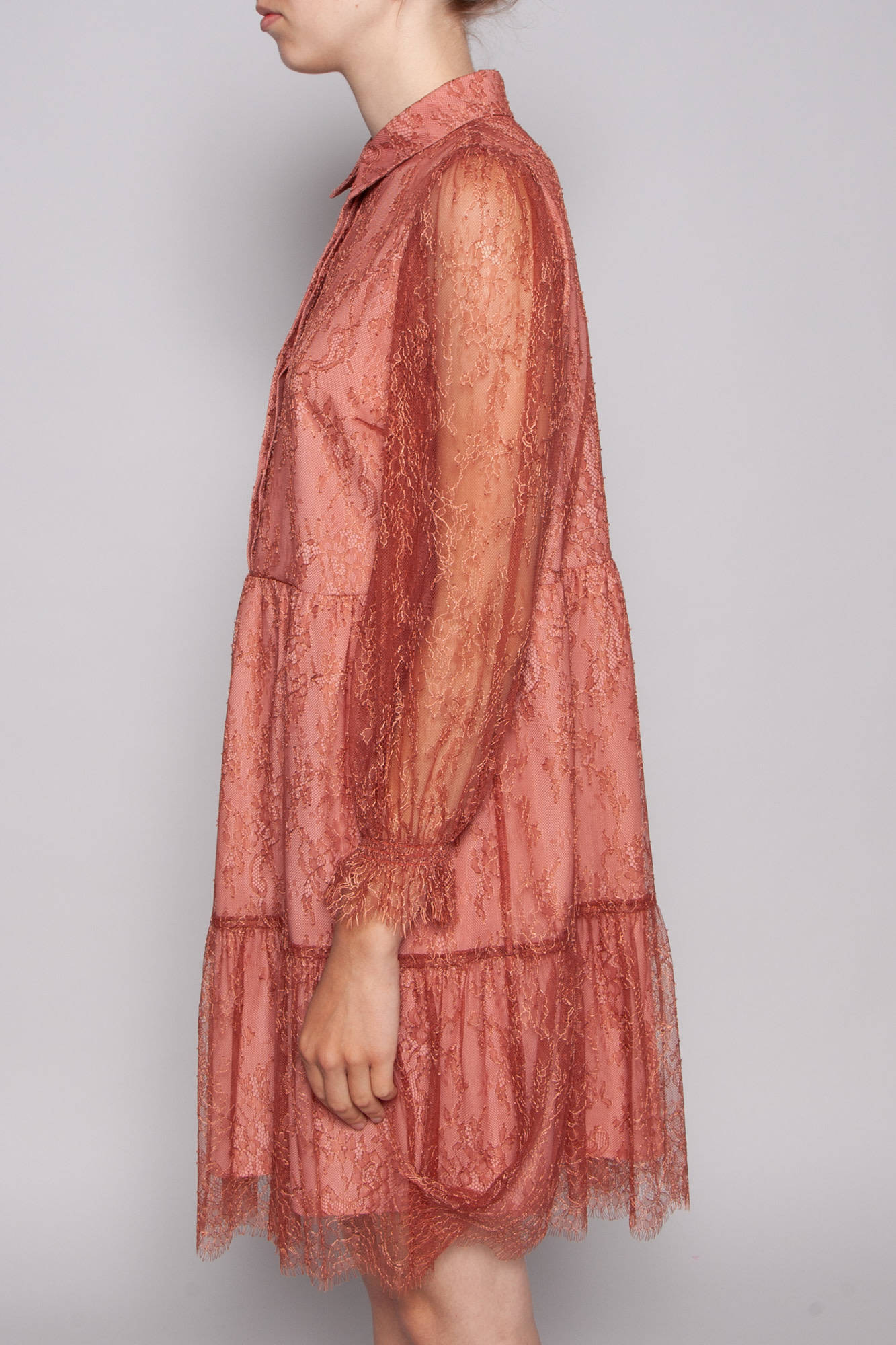 Notes du Nord  OMBRE ROSE DAWN LACE DRESS - NEW WITH TAG