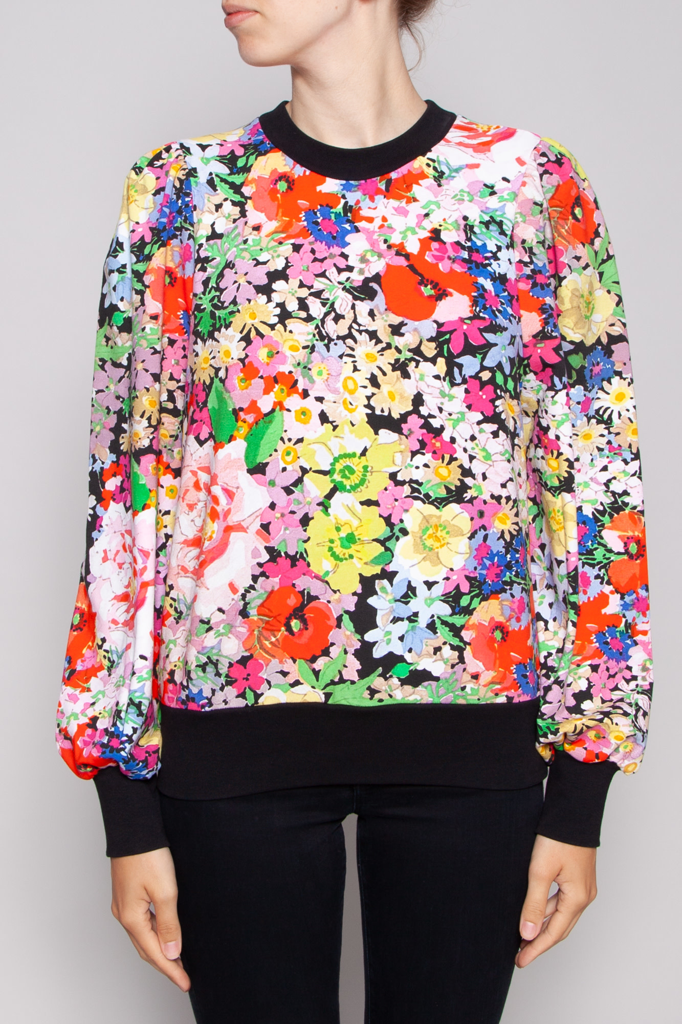 Notes du Nord WILDFLOWER PRINT SWEATER PAIGE - NEW WITH TAG