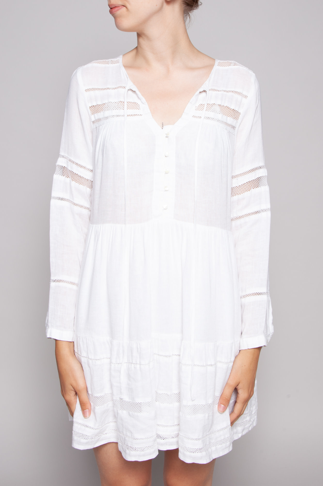 Rails WHITE SWING PHOEBE DRESS - NEW WITH TAGS