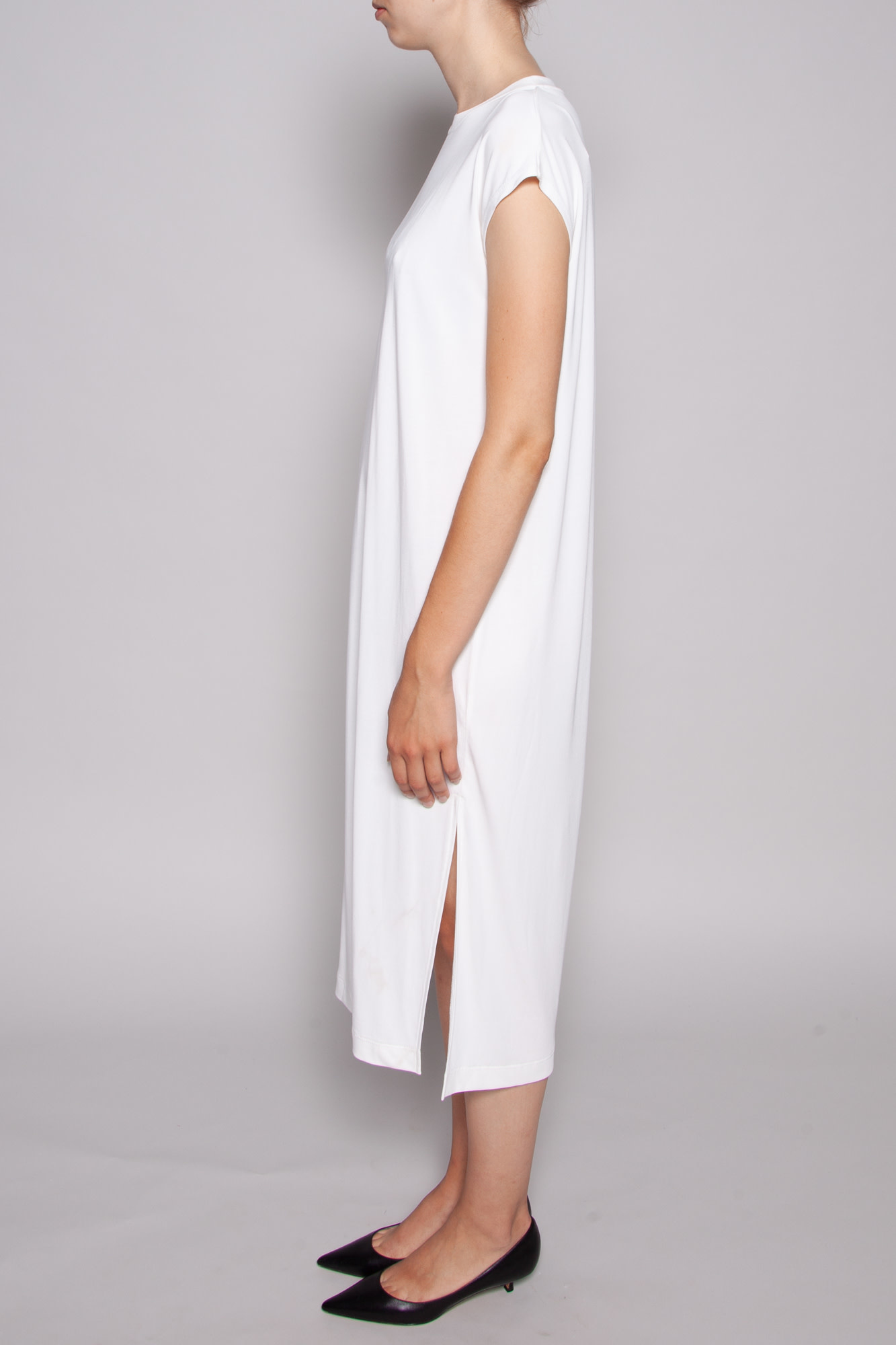 Notes du Nord DALLAS SLEEVELESS WHITE DRESS - NEW WITH TAG