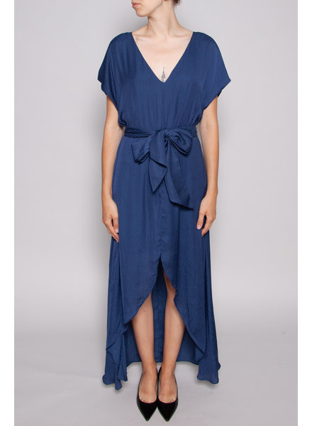 Charli KLARA BLUE MAXI DRESS - NEW WITH TAG