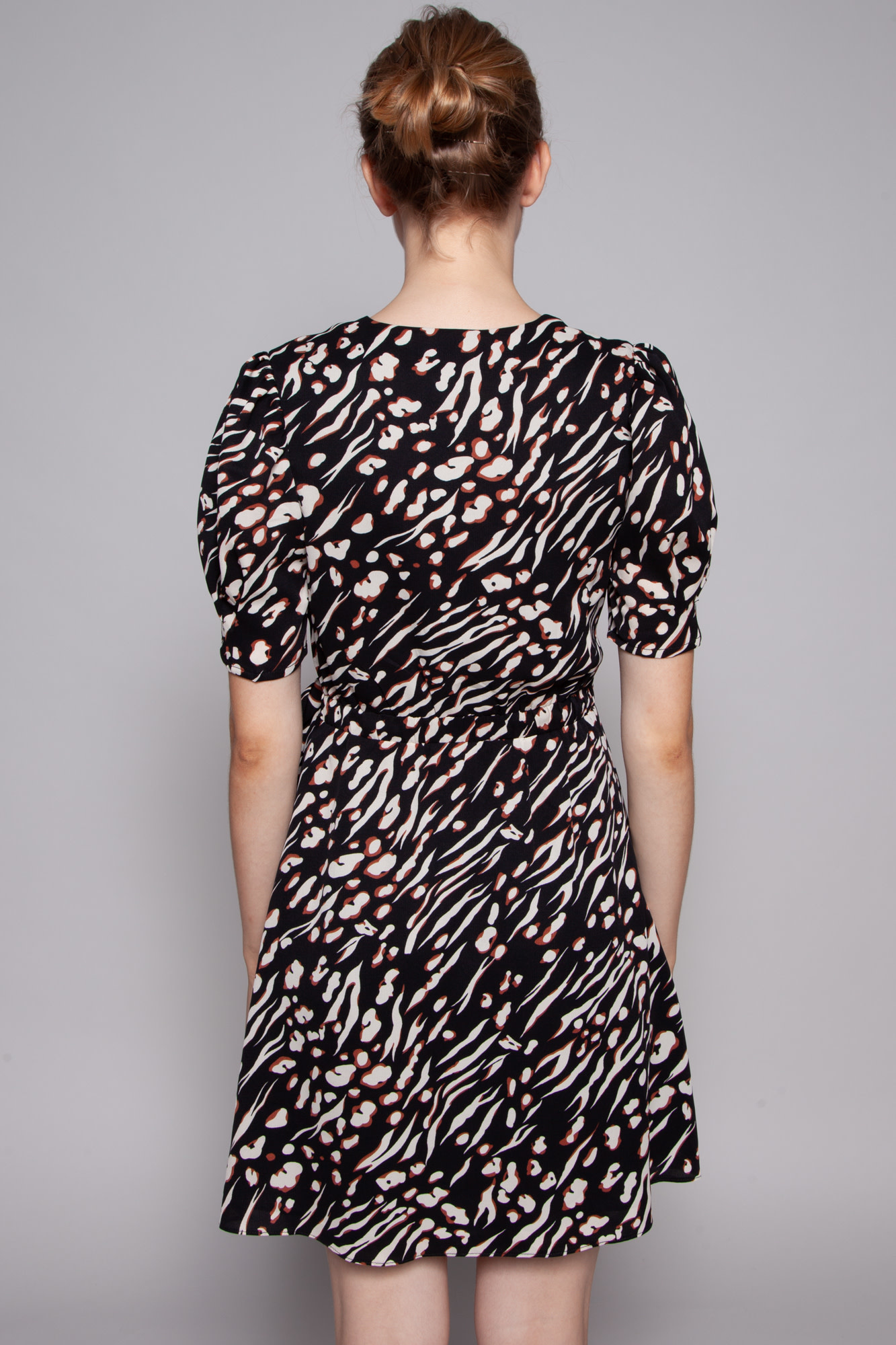 Heartloom TIGER PRINT WRAP DRESS - NEW