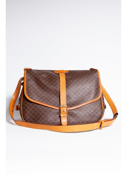 Céline NEW PRICE (WAS $695) - MACADAM PRINT SHOULDER BAG