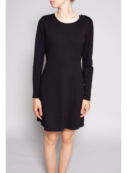 Theory BLACK LONG SLEEVE DRESS