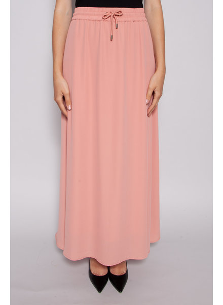 Notes du Nord NEW PRICE (WAS $110) - FLUID PINK SKIRT WITH CORD AT THE WAIST