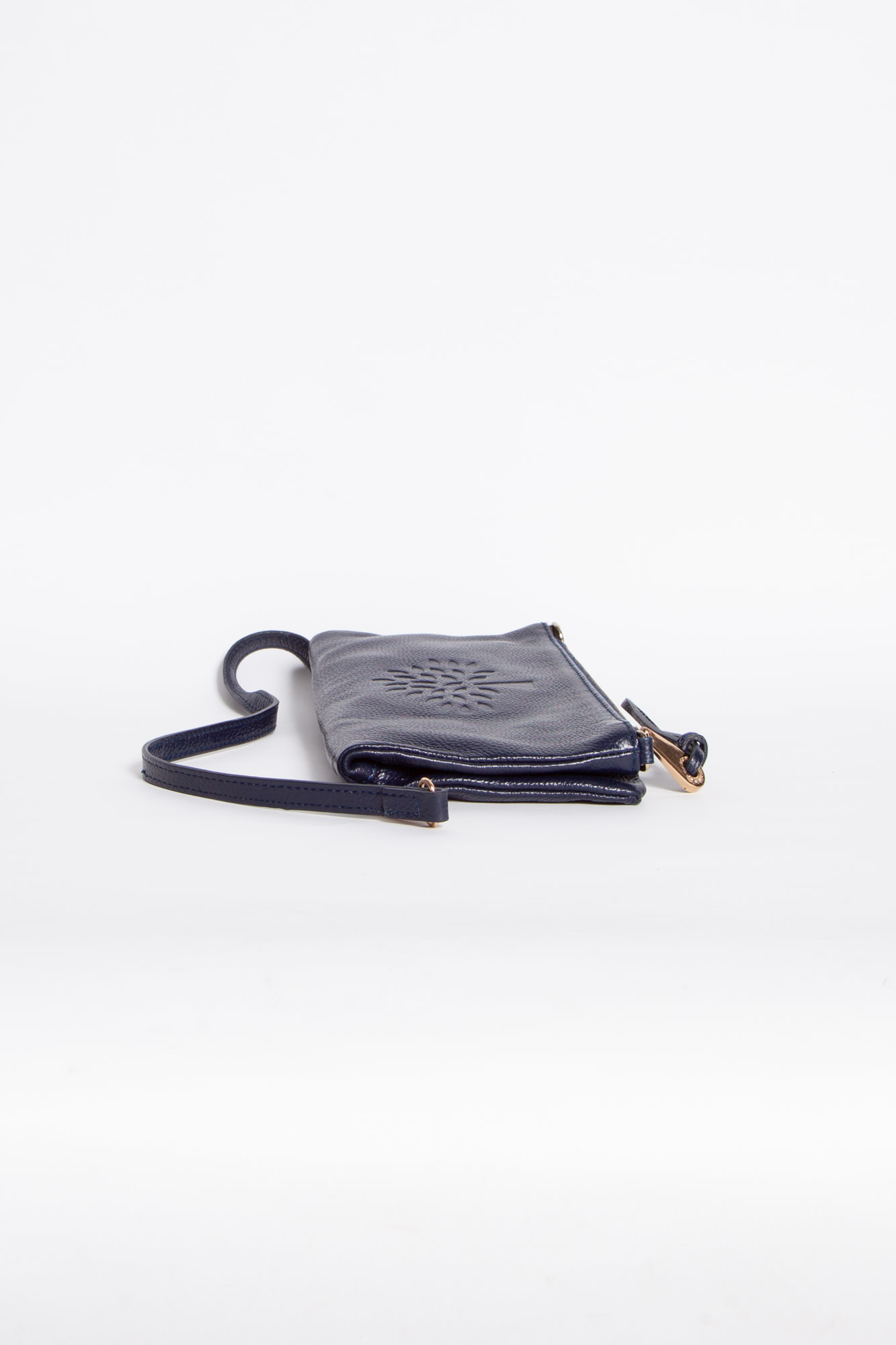 Mulberry NAVY BLUE POUCH WITH BRAID